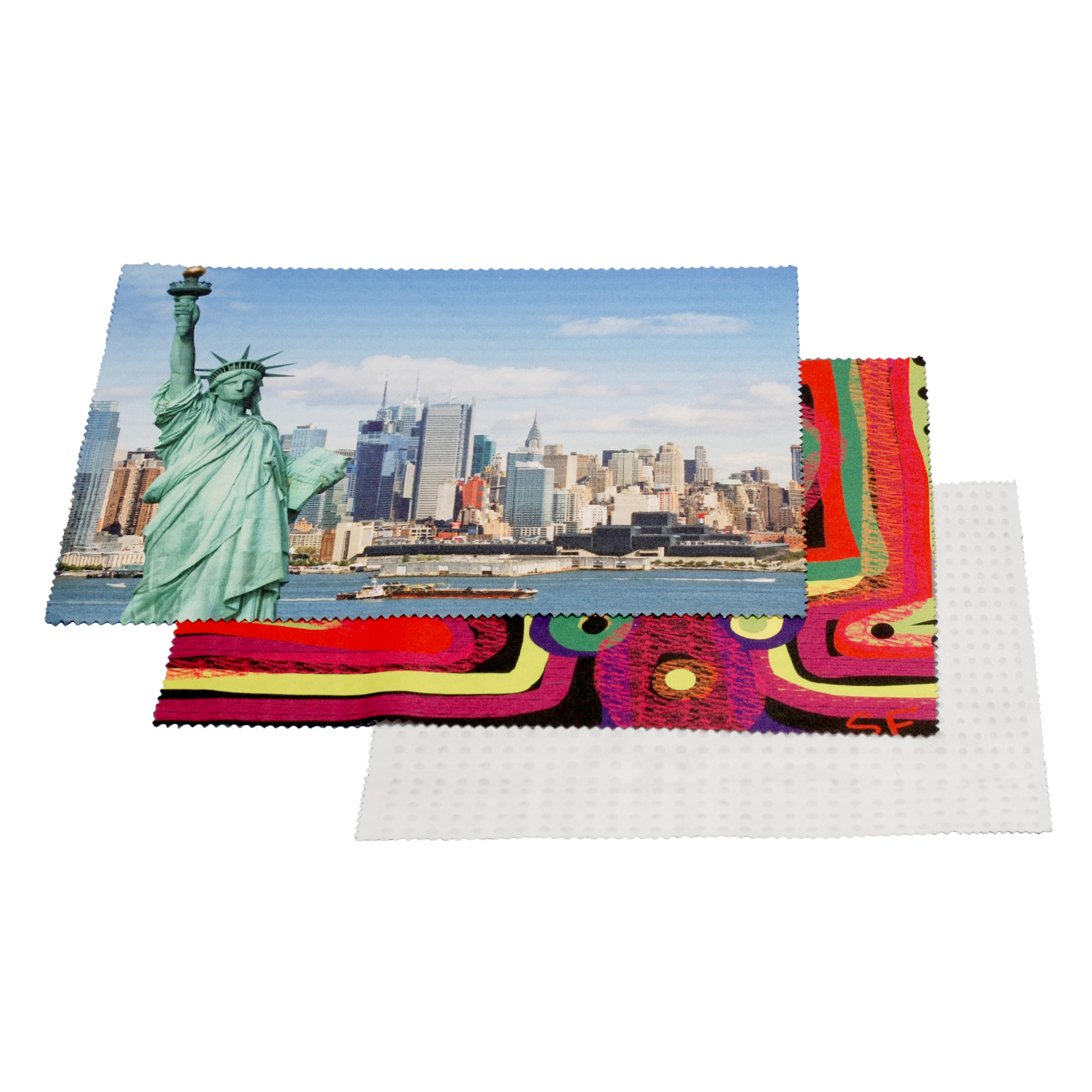 """MicroMousePad- Mouse Pad/ Microfiber Screen Cleaner/ Keyboard Cover/ Screen Protector (8""""x6"""")"""