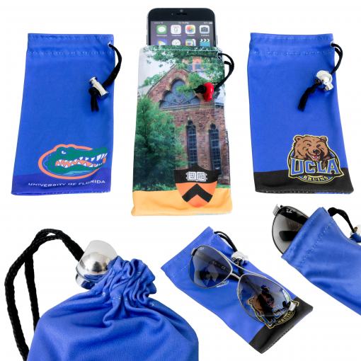 """MicroPouch - Portable Microfiber Screen Cleaner Pouch (3.35""""x6.69"""")"""